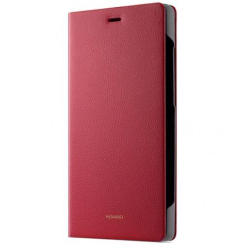 Huawei Flip Cover Red Huawei P8 Lite