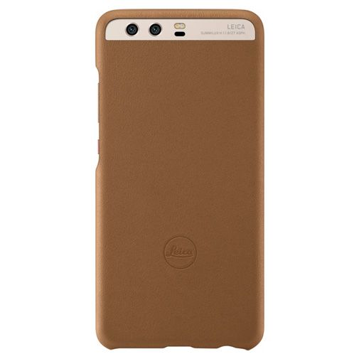 Huawei Leica Leather Cover Brown P10 Plus
