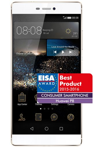 Productafbeelding Huawei P8 16GB Champagne Gold