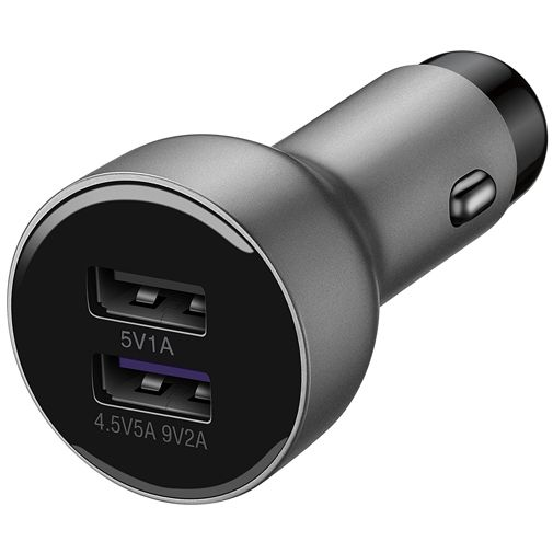 Huawei SuperCharge Autolader + USB-C Datakabel AP38 Silver