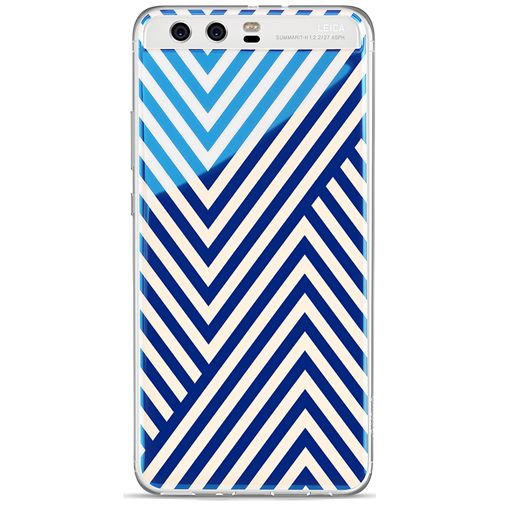 Huawei TPU Case Multicolor Arrowhead Pattern P10