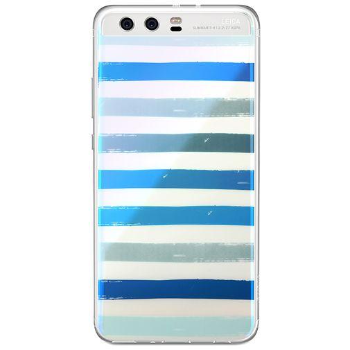 Huawei TPU Case Multicolor Stripe Pattern P10