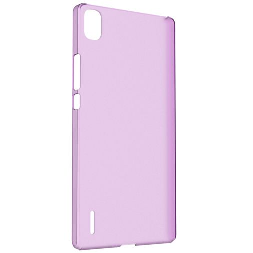 Productafbeelding van de Huawei TPU Case Purple Ascend P7