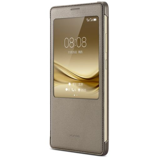 Huawei View Cover Brown Mate 8