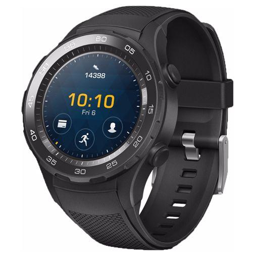 Productafbeelding van de Huawei Watch 2 Sport 4G Black