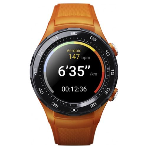 Productafbeelding van de Huawei Watch 2 Sport 4G Orange