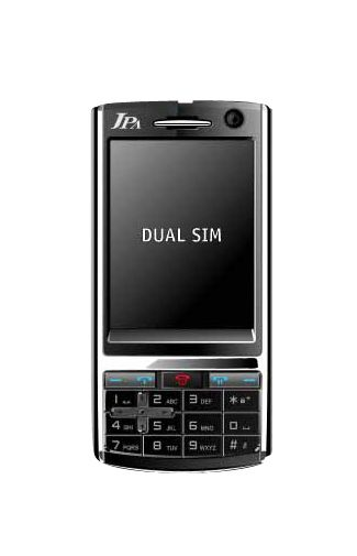 JPA X7 Dual SIM Black Chrome