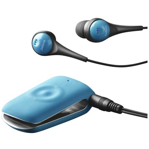 Jabra Stereo Bluetooth Headset Clipper Blue