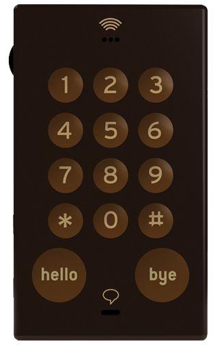 John's Phone Brown