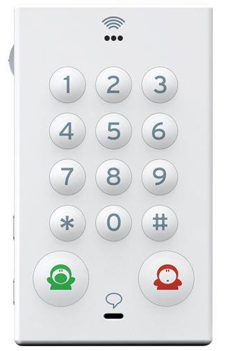 John's Phone White