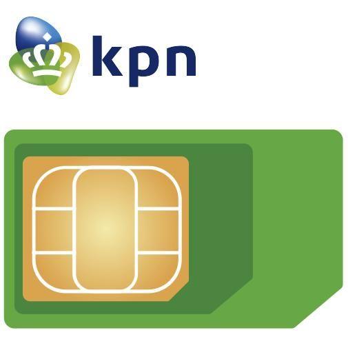Productafbeelding van de KPN vervangende 3-in-1 simkaart