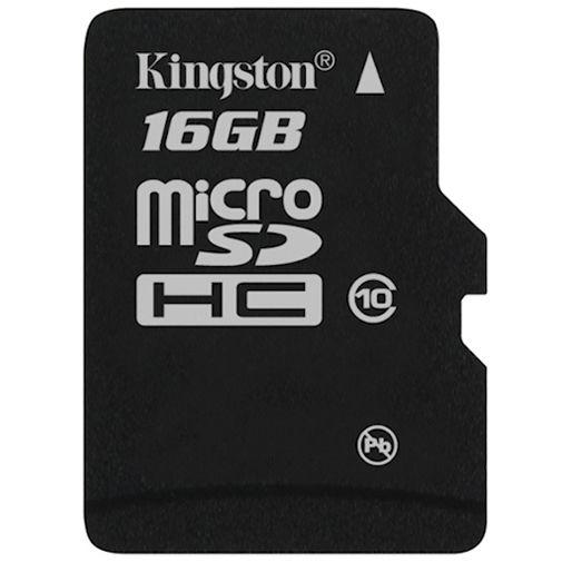 Kingston microSDHC 16GB Class 10 + SD-Adapter