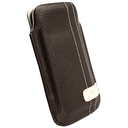 Krusell Gaia Mobile Pouch M Brown Leather