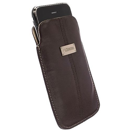 Krusell Luna Pouch Brown/Sand Medium