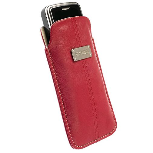 Krusell Luna Pouch Red/Sand Medium