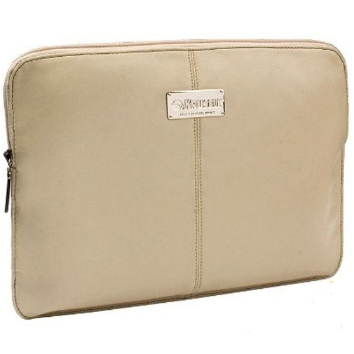Krusell Luna Tablet Sleeve 12 inch Cream Black