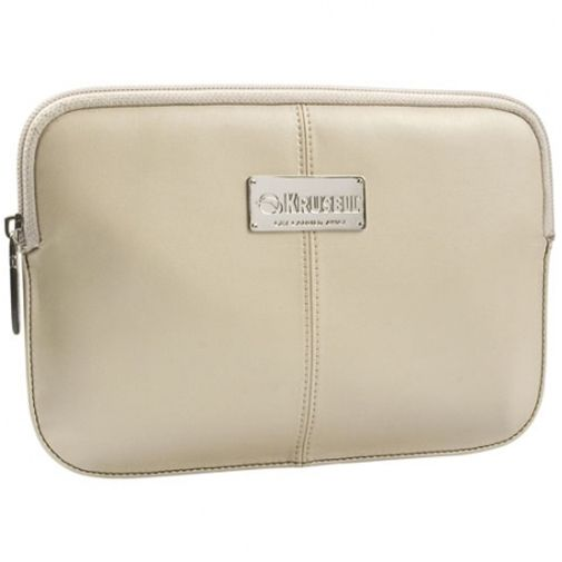 Krusell Luna Tablet Sleeve 7 Inch Cream Black