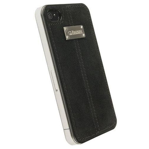 Krusell Luna UnderCover Faux Nubuck Black iPhone 4