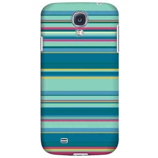 Krusell Printcover Samsung Galaxy S4 Green Stripe
