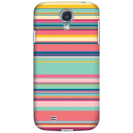 Krusell Printcover Samsung Galaxy S4 Pink Stripe