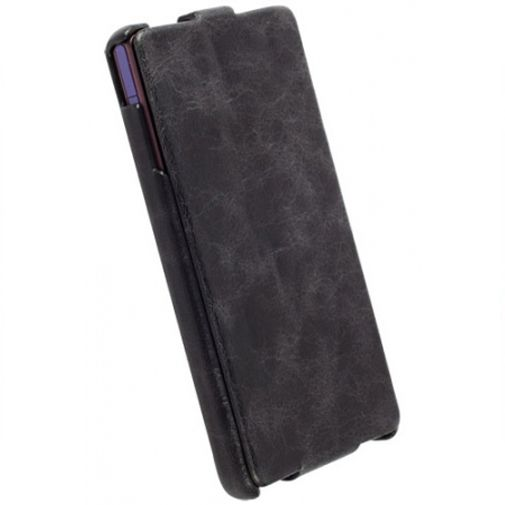 Productafbeelding van de Krusell Tumba Slimcover Sony Xperia Z Vintage Black