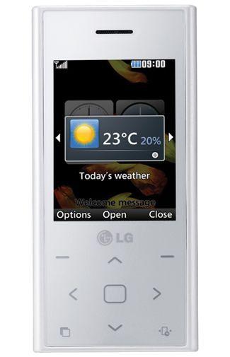 LG BL20 New Chocolate White Pink