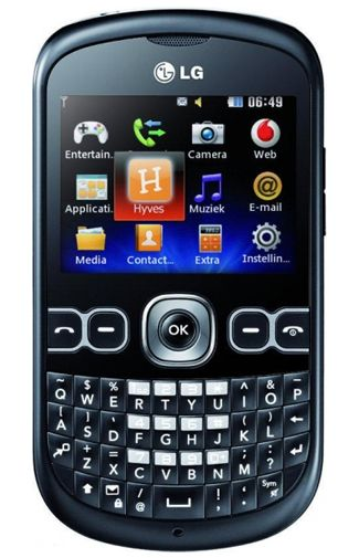 LG C300 Black Grey