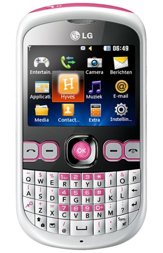 LG C300 InTouch White Pink