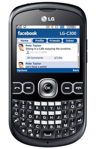 LG C300 InTouch Black Titanium