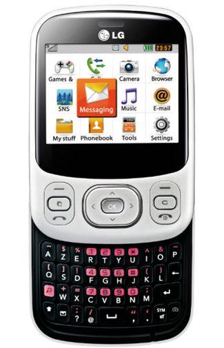 LG C320 InTouch Lady White Black