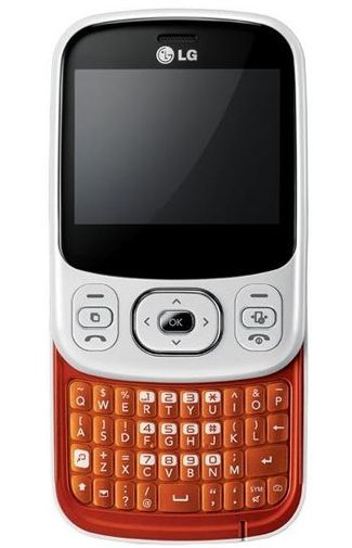 LG C320 InTouch Lady White Orange