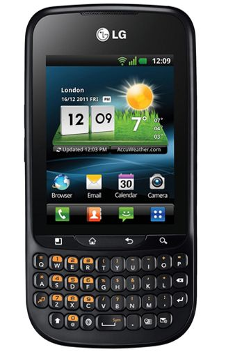Productafbeelding van de LG C660 Optimus pro