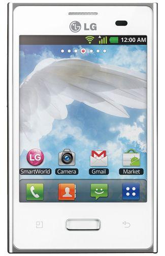 LG E400 Optimus L3 Full White