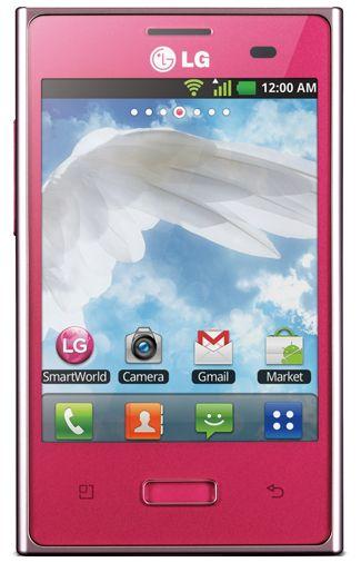 LG E400 Optimus L3 Pink