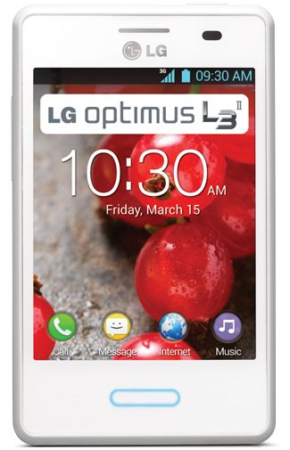 LG E430 Optimus L3 II Full White