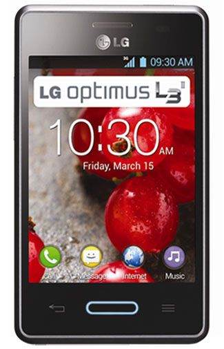 LG E430 Optimus L3 II Black Titan