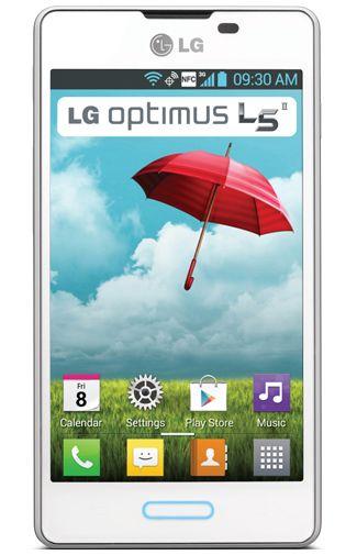 LG E460 Optimus L5 II Full White
