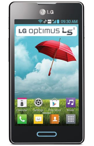 LG E460 Optimus L5 II Black Titan