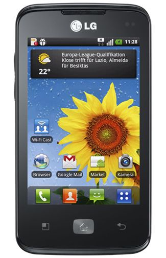 Productafbeelding van de LG E510 Optimus Hub