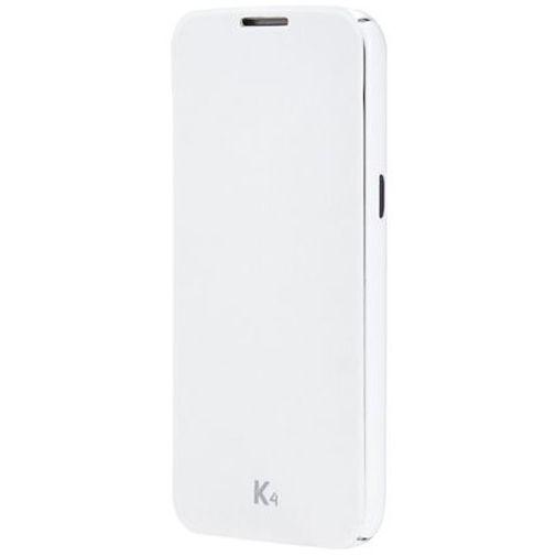 LG Flip Case White LG K4