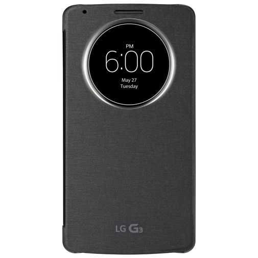 LG G3 Quick Circle Case Black