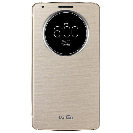 LG G3 Quick Circle Case Gold