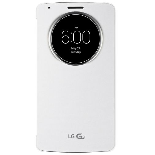 LG G3 Quick Circle Case White