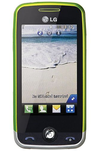 LG GS290 Cookie Fresh White Green