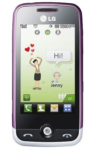 LG GS290 Cookie Fresh White Purple