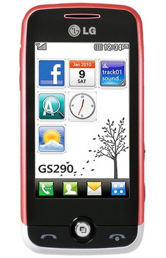 LG GS290 Cookie Fresh White Red