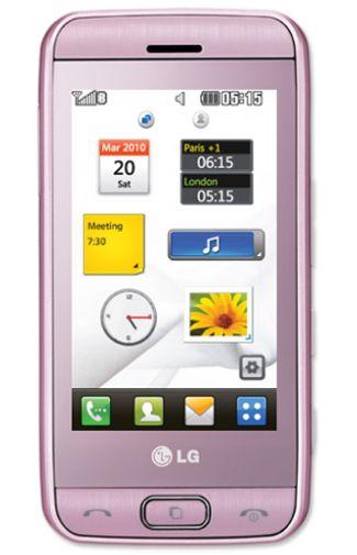LG GT400 Viewty Pink