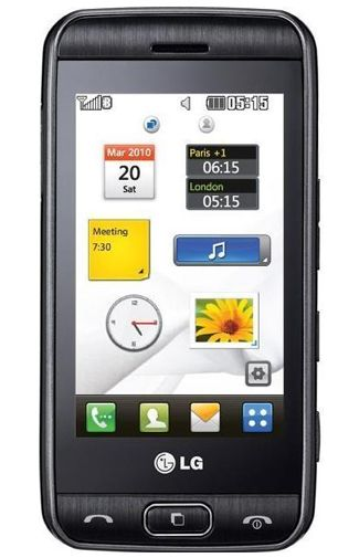 Productafbeelding van de LG GT400 Viewty