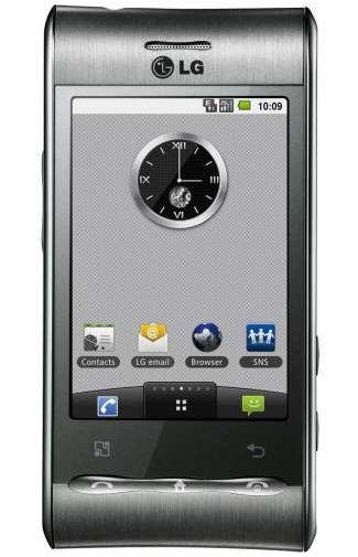 LG GT540 Optimus Silver