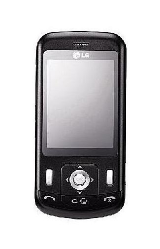 LG KC780 Black oud